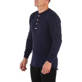 Aclima Granddad Shirt Peacoat